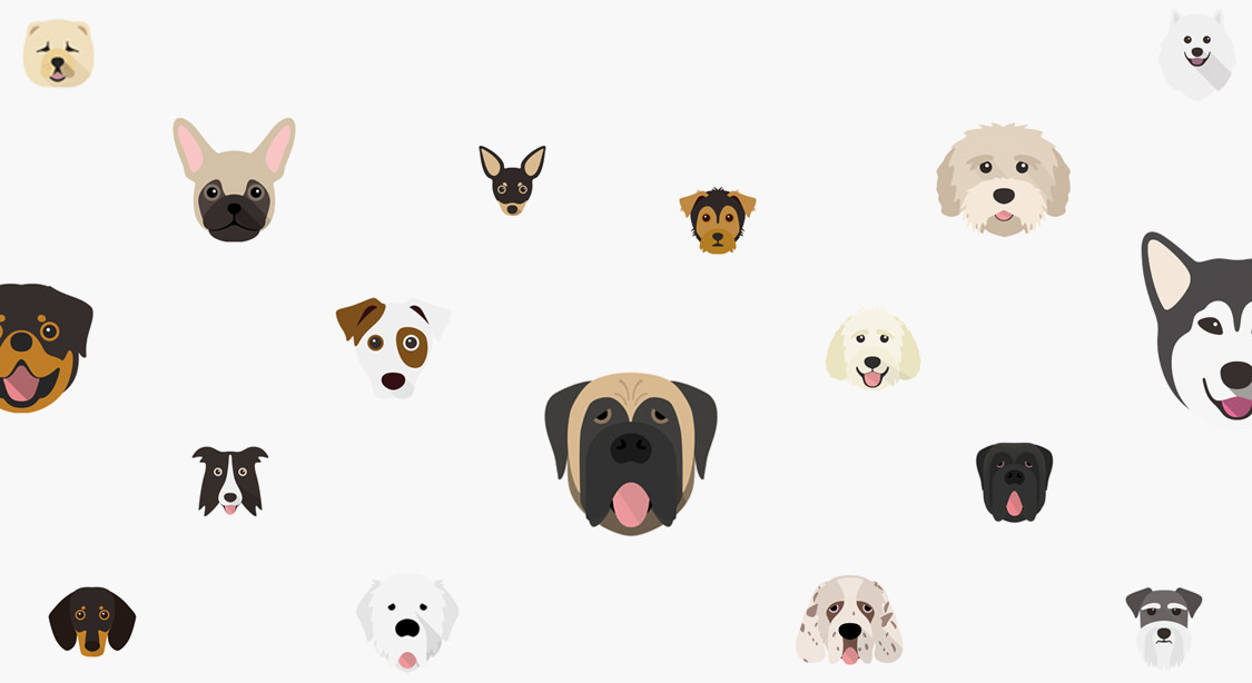 Selection of dog icons