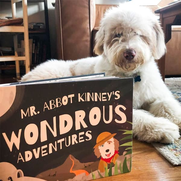 Mr Abbot Kinney and his Wondrous Adventure Book