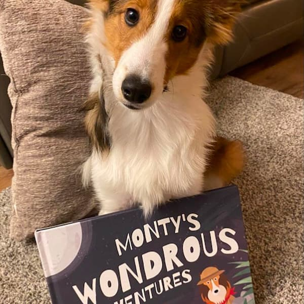Monty's very own Personalised Wondrous Adventure Book