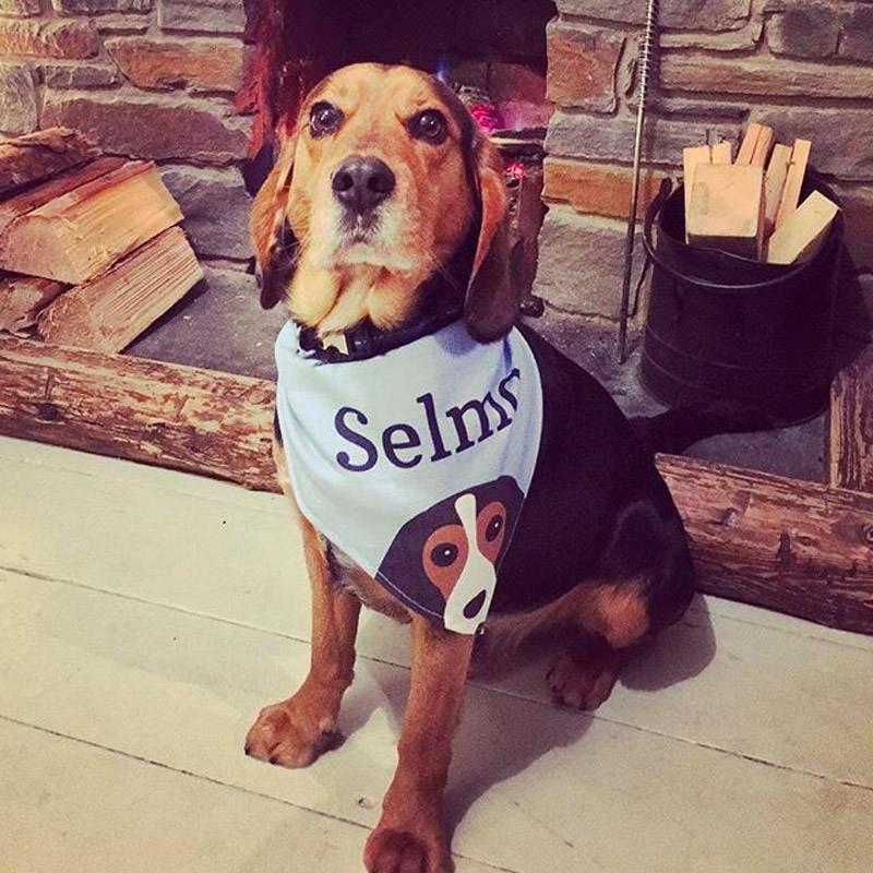 Selma with her Peeking Bandana