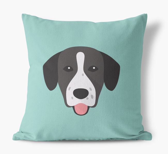 Springador Icon Canvas Cushion