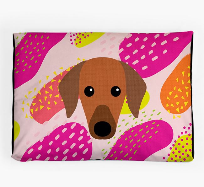Personalised 'Abstract Design' Dog Bed for your Azawakh