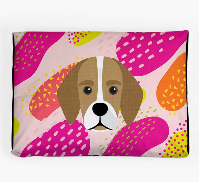 Personalised 'Abstract Design' Dog Bed for your Bassugg