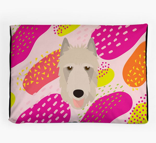 Personalised 'Abstract Design' Dog Bed for your Belgian Laekenois