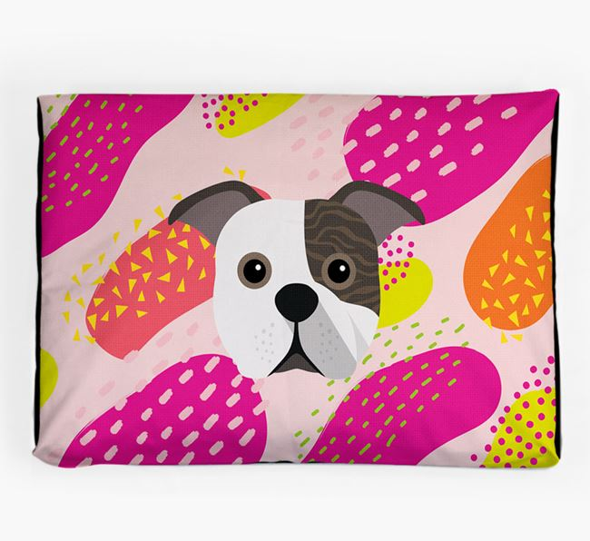 Personalised 'Abstract Design' Dog Bed for your Bugg