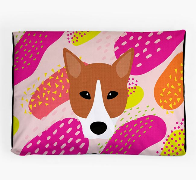 Personalised 'Abstract Design' Dog Bed for your Canaan Dog