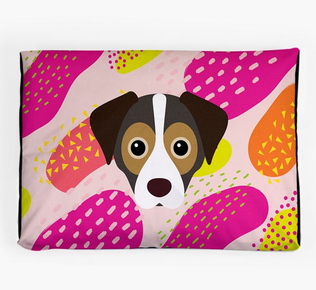 Personalised 'Abstract Design' Dog Bed for your Cheagle
