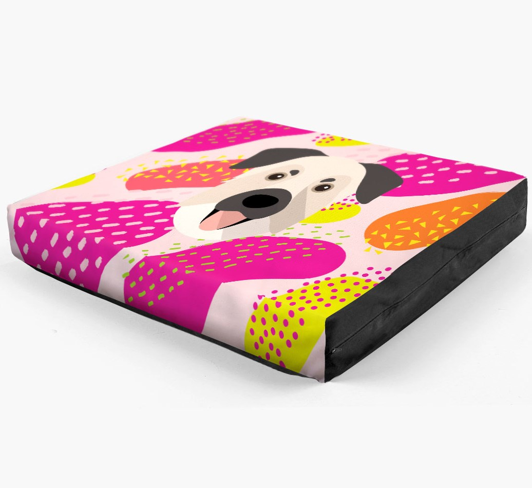 Personalised 'Abstract Design' Dog Bed for your Chinook