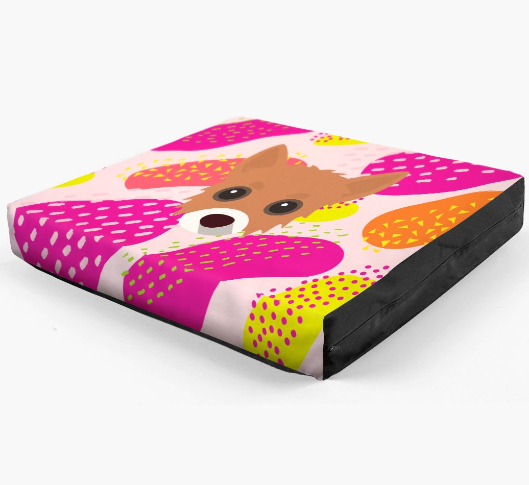 Personalised 'Abstract Design' Dog Bed for your Chipoo