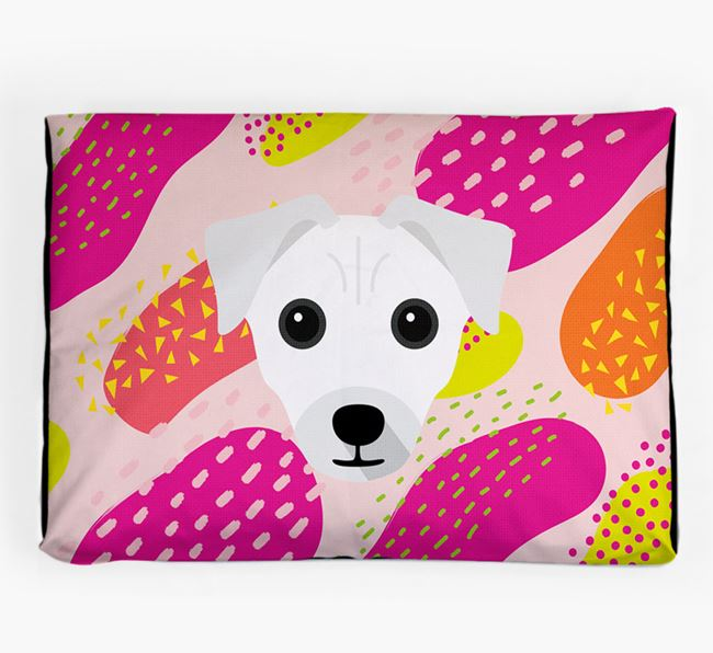 Personalised 'Abstract Design' Dog Bed for your Chi Staffy Bull