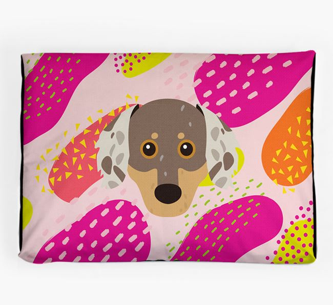 Personalised 'Abstract Design' Dog Bed for your Chiweenie