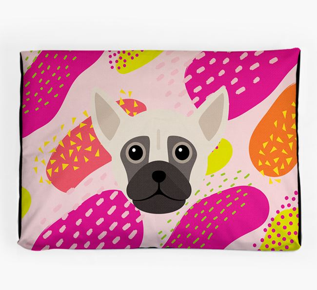 Personalised 'Abstract Design' Dog Bed for your Chug