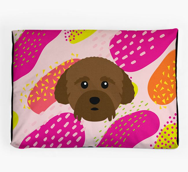 Personalised 'Abstract Design' Dog Bed for your Cockachon