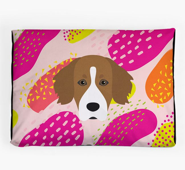 Personalised 'Abstract Design' Dog Bed for your Cockador