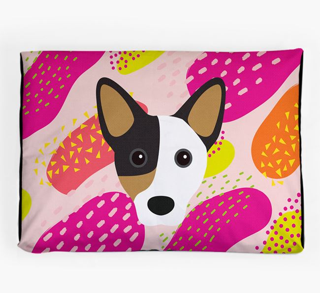 Personalised 'Abstract Design' Dog Bed for your Cojack