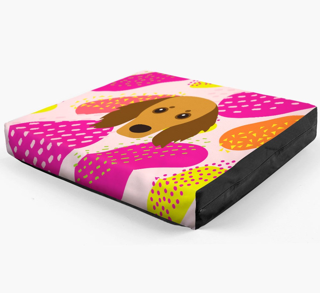 Personalised 'Abstract Design' Dog Bed for your Doxiepoo