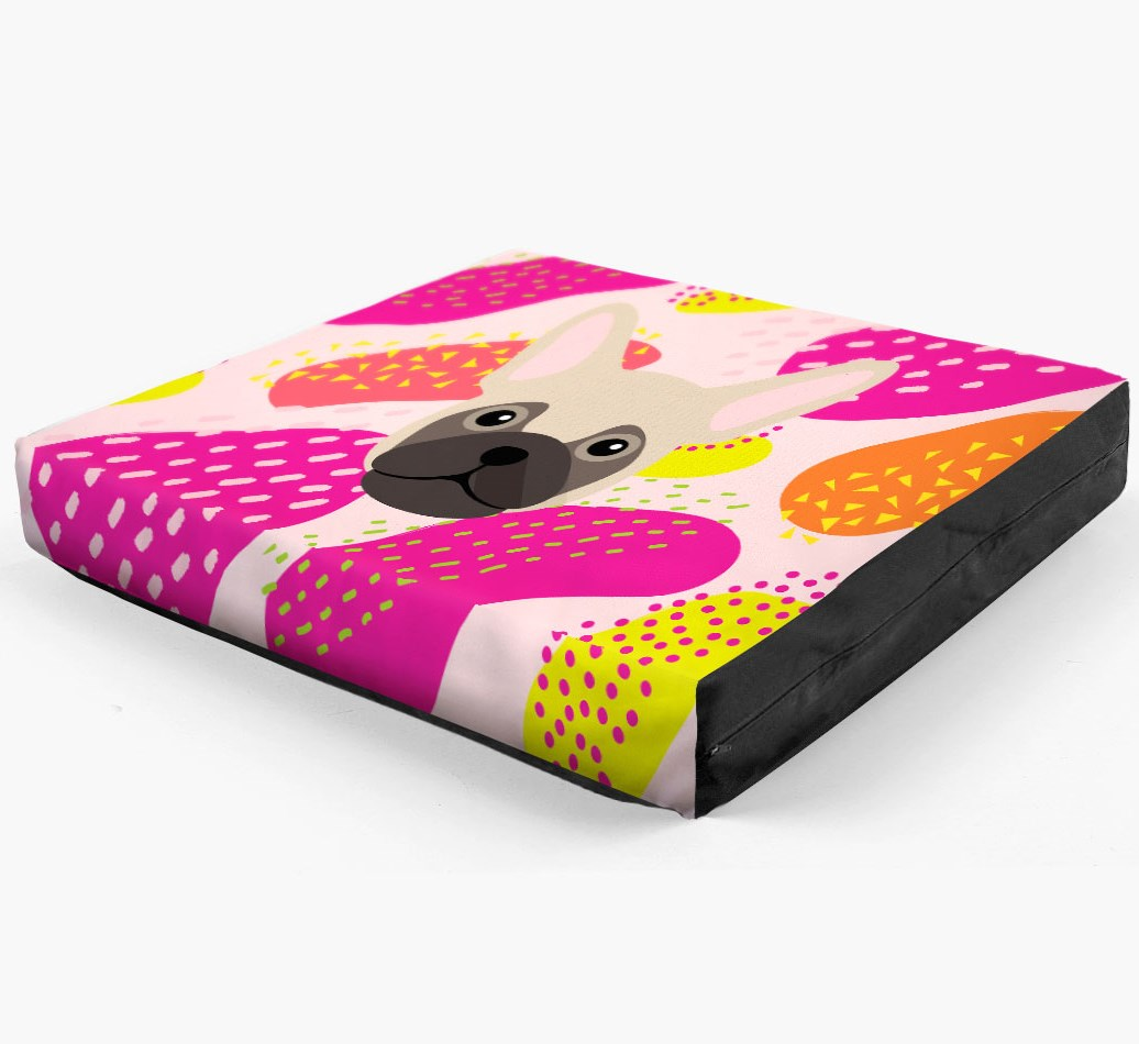 Personalised 'Abstract Design' Dog Bed for your Frug