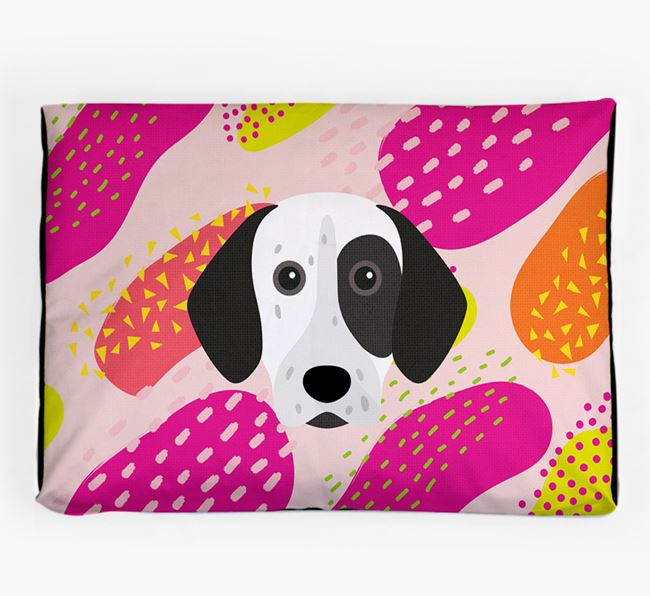 Personalised 'Abstract Design' Dog Bed for your German Shorthaired Pointer