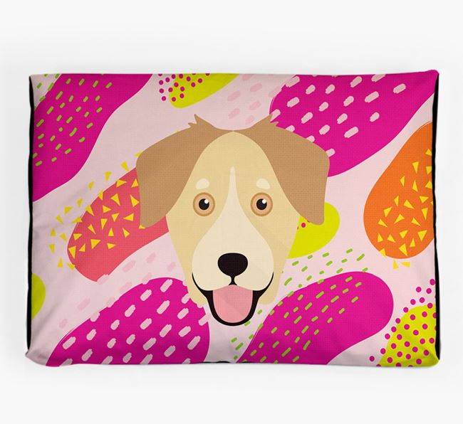 Personalised 'Abstract Design' Dog Bed for your Goberian