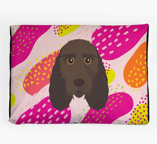 Personalised 'Abstract Design' Dog Bed for your Grand Basset Griffon Vendeen