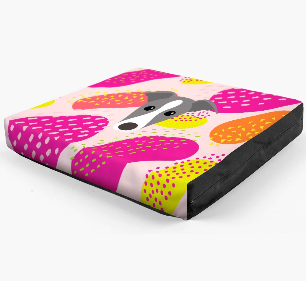 Personalised 'Abstract Design' Dog Bed for your Greyhound