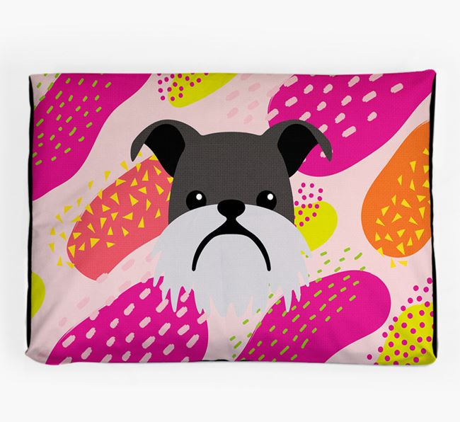 Personalised 'Abstract Design' Dog Bed for your Griffon Bruxellois