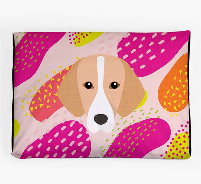 Personalised 'Abstract Design' Dog Bed for your Hamiltonstovare