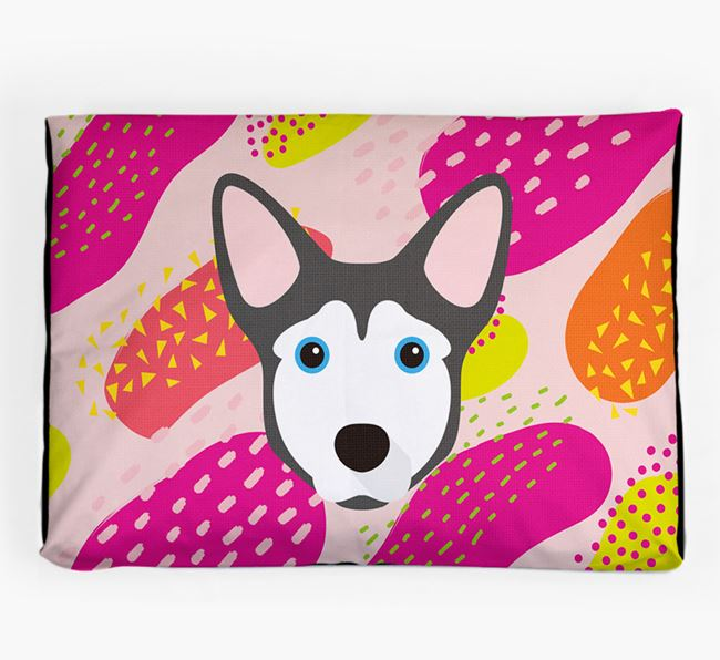 Personalised 'Abstract Design' Dog Bed for your Horgi
