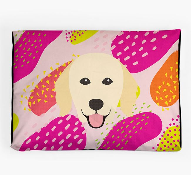 Personalised 'Abstract Design' Dog Bed for your Hovawart