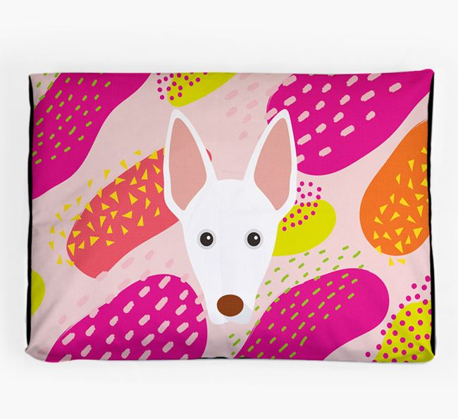 Personalised 'Abstract Design' Dog Bed for your Ibizan Hound
