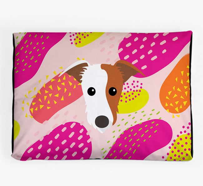 Personalised 'Abstract Design' Dog Bed for your Lurcher