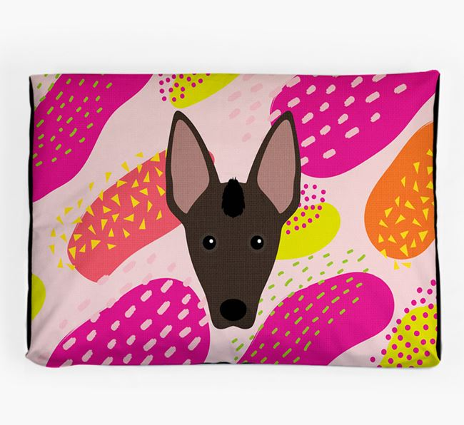 Personalised 'Abstract Design' Dog Bed for your Mexican Hairless