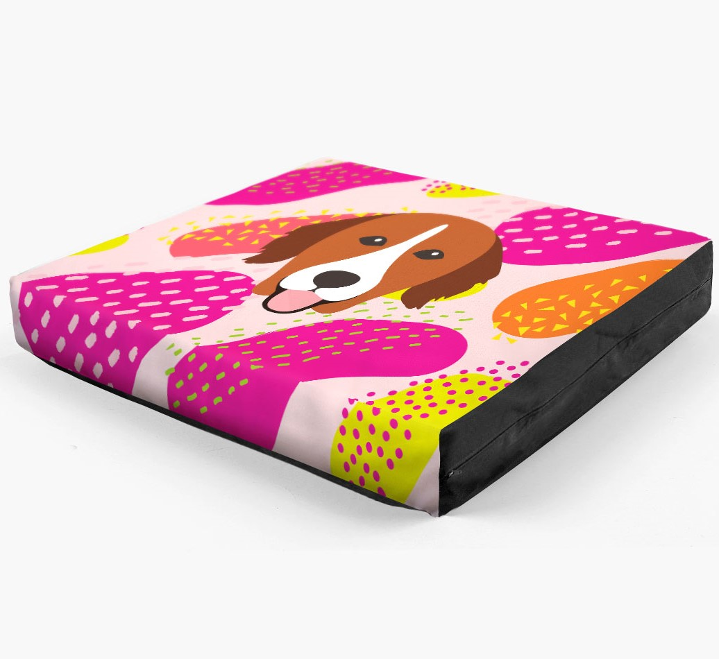 Personalised 'Abstract Design' Dog Bed for your Nova Scotia Duck Tolling Retriever