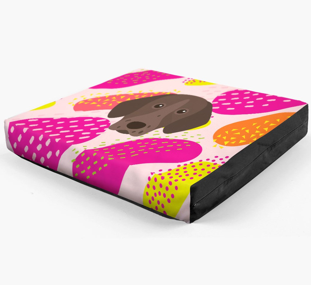 Personalised 'Abstract Design' Dog Bed for your Pointer