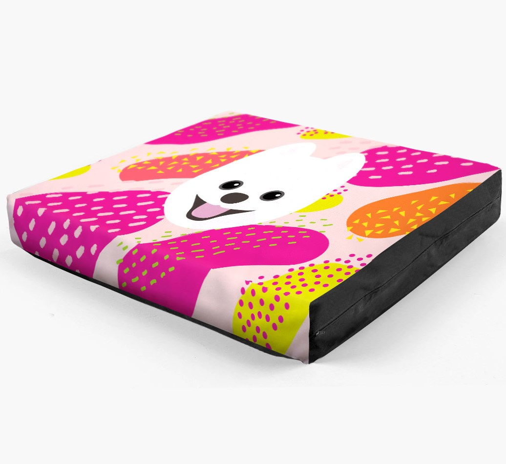 Personalised 'Abstract Design' Dog Bed for your Pomsky