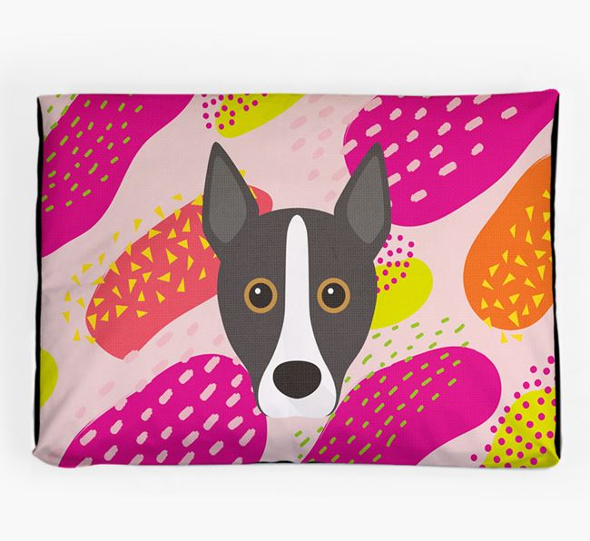 Personalised 'Abstract Design' Dog Bed for your Portuguese Podengo
