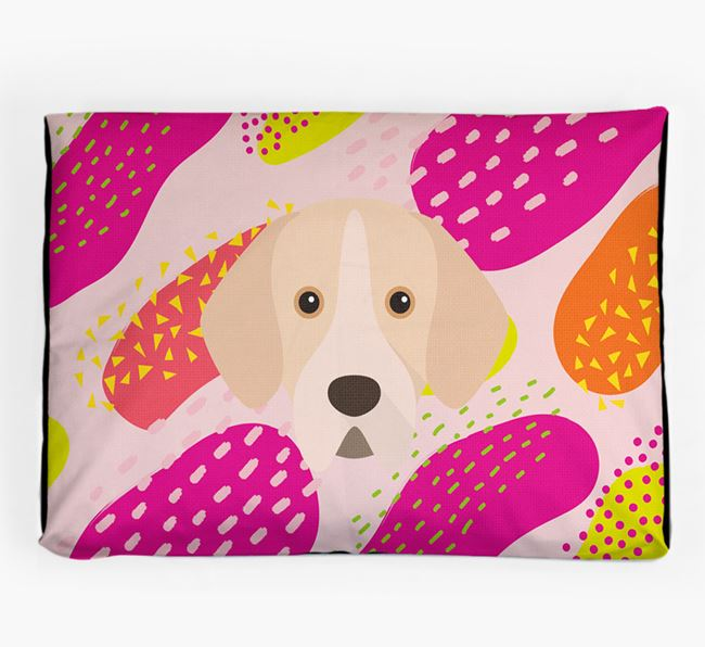 Personalised 'Abstract Design' Dog Bed for your Portuguese Pointer