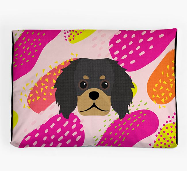Personalised 'Abstract Design' Dog Bed for your Pugalier