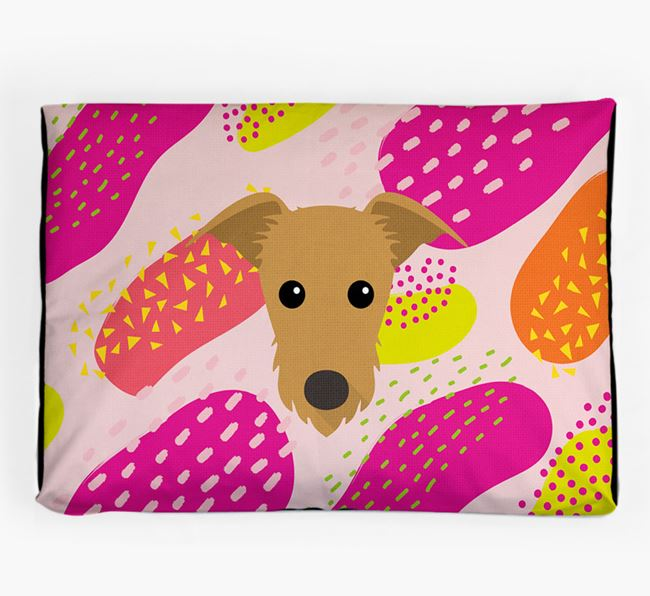 Personalised 'Abstract Design' Dog Bed for your Rescue Dog