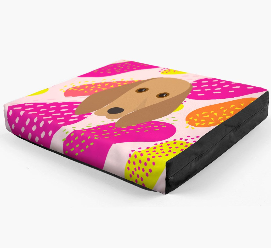 Personalised 'Abstract Design' Dog Bed for your Segugio Italiano
