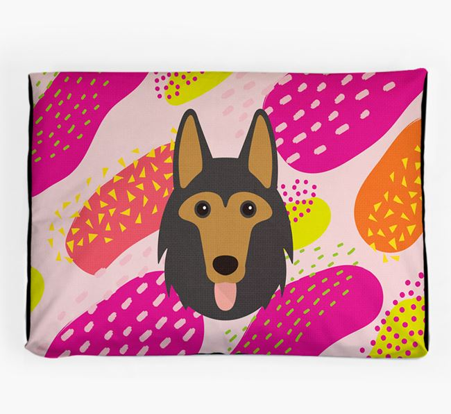 Personalised 'Abstract Design' Dog Bed for your Shollie