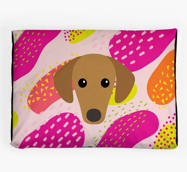 Personalised 'Abstract Design' Dog Bed for your Sloughi