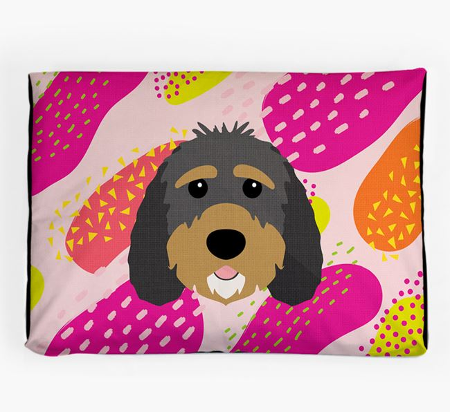 Personalised 'Abstract Design' Dog Bed for your Sproodle