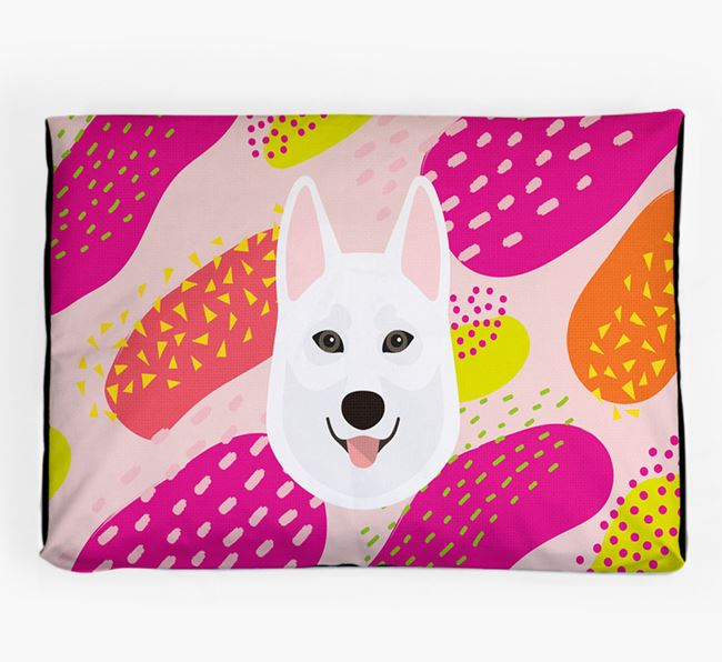 Personalised 'Abstract Design' Dog Bed for your Tamaskan