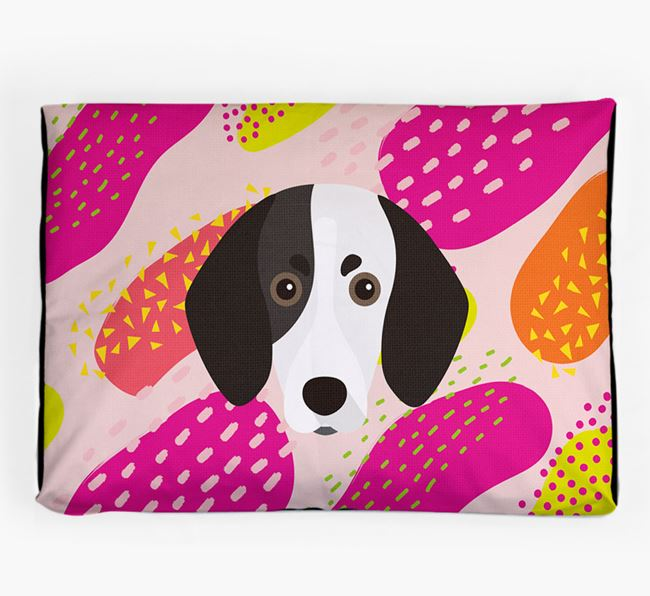 Personalised 'Abstract Design' Dog Bed for your Trailhound
