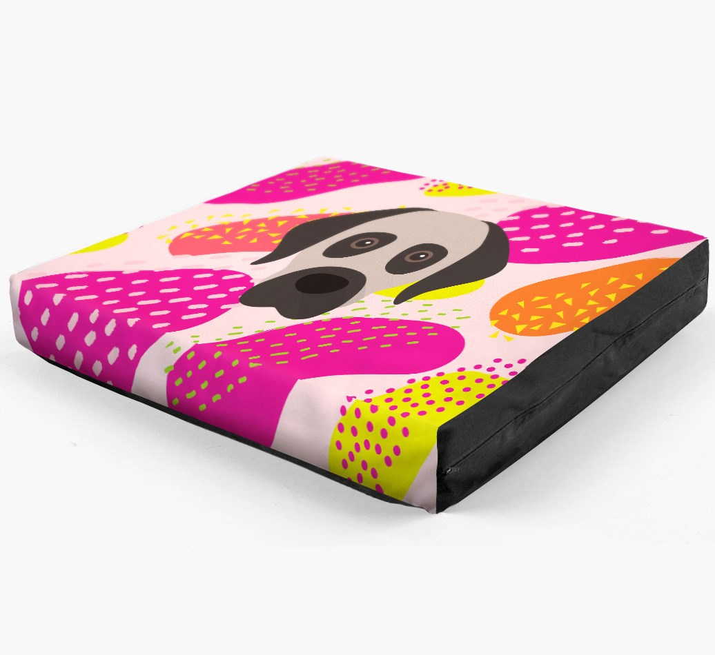 Personalised 'Abstract Design' Dog Bed for your Turkish Kangal Dog