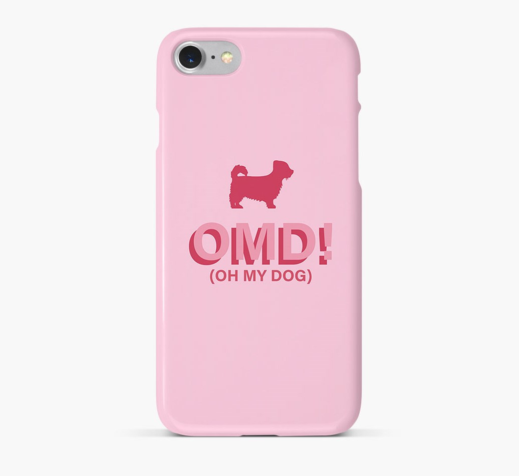 'Oh My Dog!' Phone Case with Jacktzu Silhouette