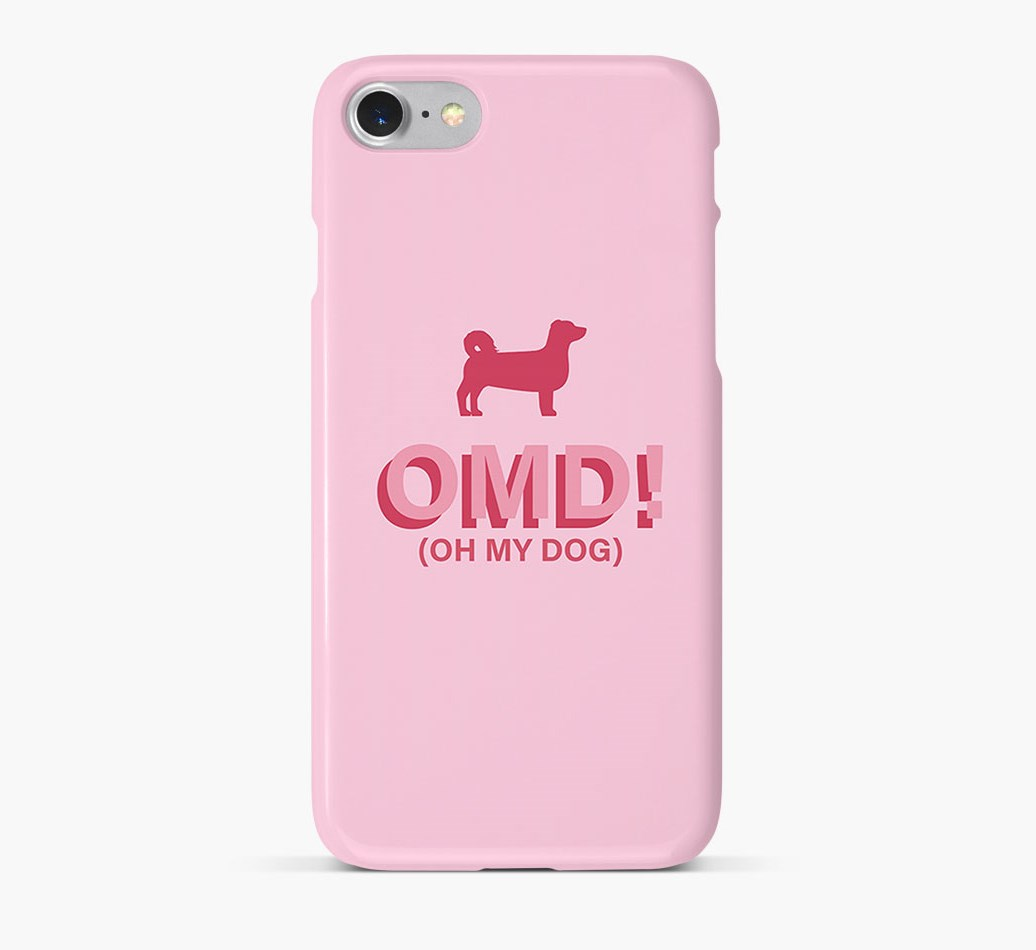 'Oh My Dog!' Phone Case with Kokoni Silhouette