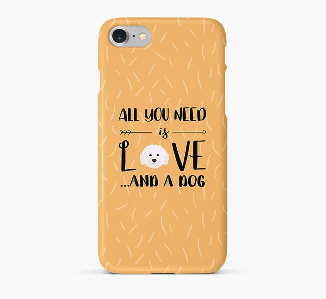 'All You Need is Love' Phone Case with Bolognese Icon