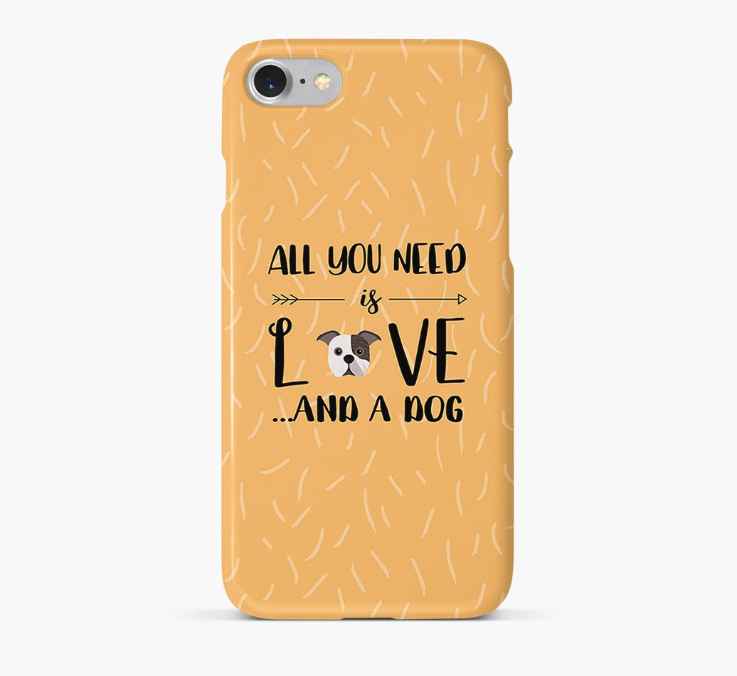 'All You Need is Love' Phone Case with Bugg Icon